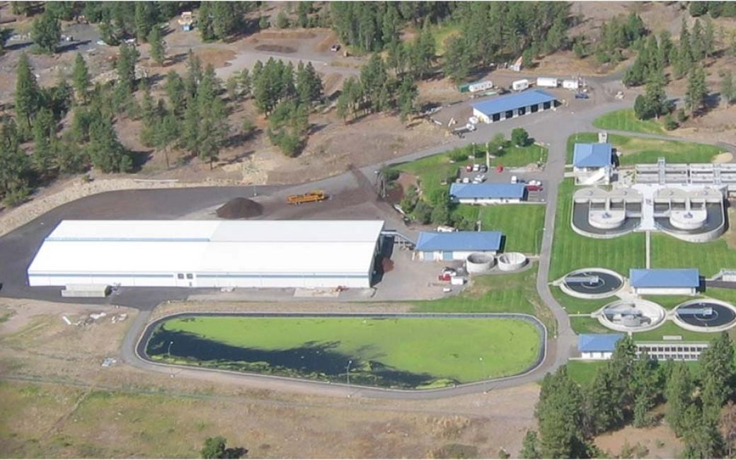 Cheney Waste Water Treatment Plant