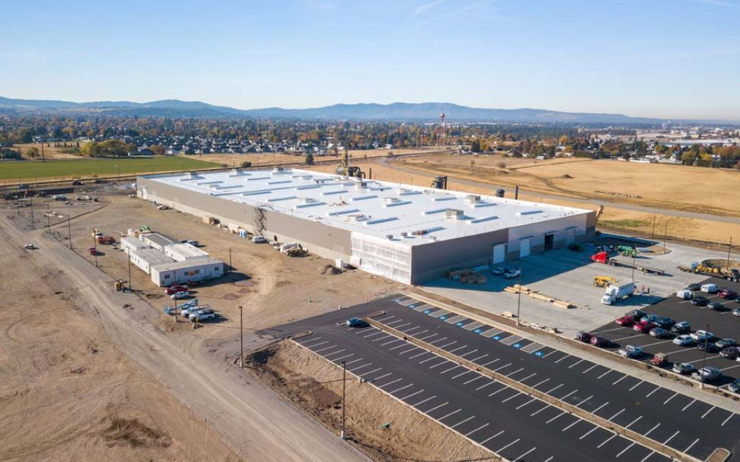 The northeast industrial area offers vacant develop-able land in the valley.
