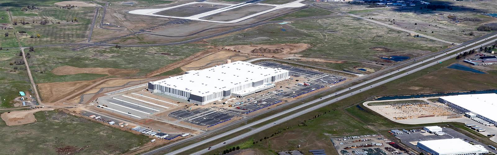Amazon Fulfillment Center To Be Built Near Spokane International Airport